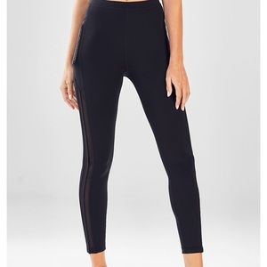 High wasted solid spin Leggings fabletics